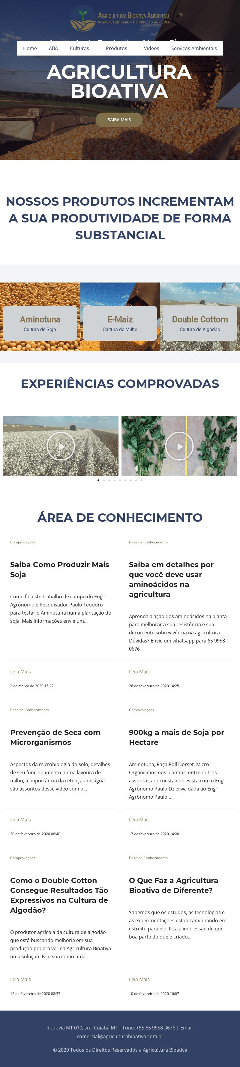 agriculturabioativa screenshot